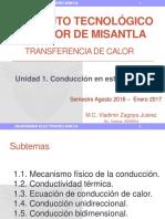 TRANSFERENCIA DE CALOR UNIDAD 1
