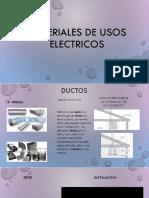Materiales de Usos Electricos
