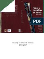 Poder y Cambio en Bolivia 2003 - 2007