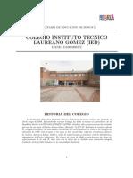 Colegio Instituto Tecnico Laureano Gomez Ied (1)