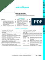 Composants Métalliques Fléchis - Conception - TIPesp-c2555