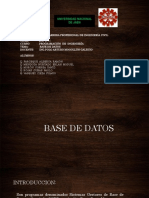 Programacion Point Base de Datos