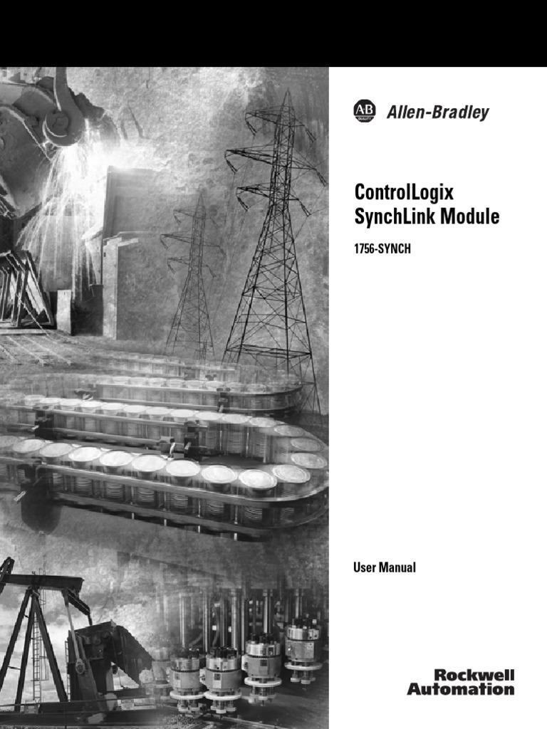 1756-um521c-en-p - ControlLogix SynchLink Module User Manual