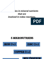 Deficiencies in Mineral Nutrients That Are