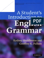 A Student 39 s Introduction to English Grammar