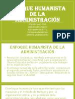 Enfoque Humanista de La