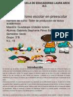 Asuentismo en Preescolar