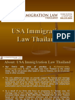 USA Immigration Law Thailand