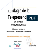 Cisco Expo 2008 Magia Telepresencia