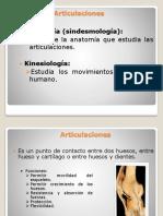 Clase 4- Sistema Muscular 1 Articulaciones