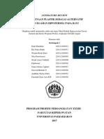 Literature Review Gadar Kel 1 Ppn 33 Fix