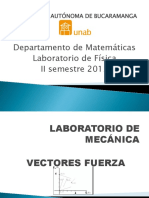 Laboratorio Fisica Vectores Fuerza