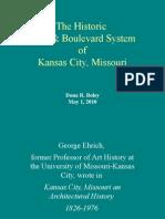 The History of Kansas City, Missouri's Parks & Boulevard System, including Roanoke Park