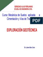 2. Exploración de Ingenieria Geotécnica