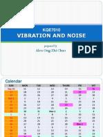 Vibration Noise Course Information 2017 Universiti Malaya