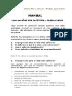 Manual Como Montar Cafeteria Passo a Passo 7 Edicao Janeiro.2016