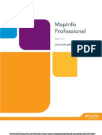 MapInfo Tutorial v9.0