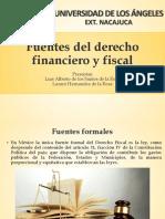 Fuentes Formales Del Derecho Financieron y Fiscal