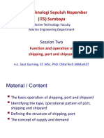 Session Two Function of Shipping_port_shipyard