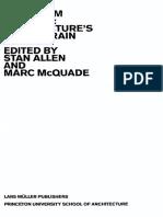 Landform building - Stan Allen Marc McQuade