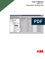 1MRK511089-UEN 2 en Parameter Setting Tool PST 1.1