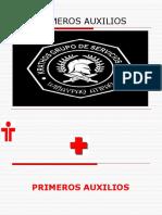 Clase de Primeros Auxilios Grupo Krathos