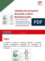 Sesión 08 - Modelo de transporte desbalanceados - GO.pdf