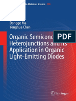 Organic Semiconductor Heterojunctions and Its Application in Organic Light-Emitting Diodes