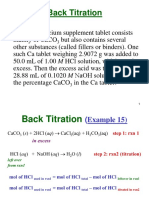 2017F1110 Review Back Titration Slides