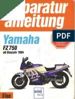 Service Manual - Yamaha FZ 750