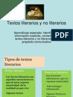 TEXTOS-LITERARIOS-Y-NO-LITERARIOS-2º.ppt