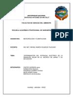 Trabajo de Investigacion Radiacion Solar en Caraz 2016-I