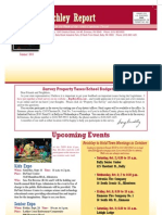 Summer 2010 Reichley Report