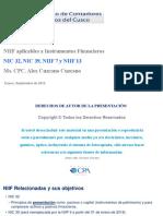 Niif Aplicables a Instrumentos Financieros 005