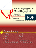 aortic regurgitation case