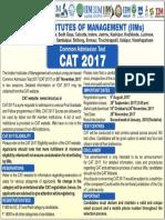 CAT 2017 Advertisement