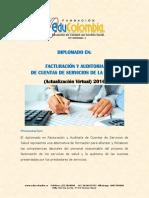 Diplomado Virtual de Facturacion y Auditoria de Cuentas Médicas 1