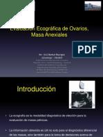 Quistes Ováricos y Masa Anexial