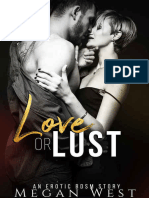 Love or Lust Domination and Submission Erotica - Megan West