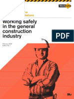 Working Safely in the General Construction
