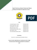 Journal Reading RCT Misoprostol Induction Labor Prof Kurdi Keke