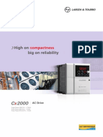 Cx2000 Ac Drive Catalogue