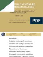 Direccion Estrategias Operacionales