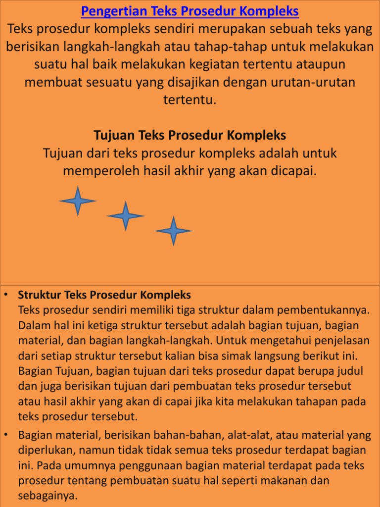 Prosedur Text