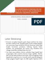 Faktor-faktor Yang Mempengaruhi Dimensia Dini Ibu Rumah Tangga