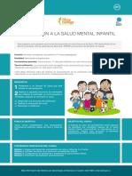 Introduccion a La Salud Mental Infantil Ficha Promocional
