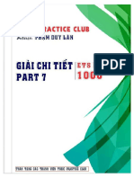 Giải Part 7 ETS1000