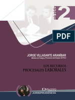 5.- Los Recursos Procesales Laborales.