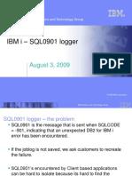 SQL0901 Logger - Education