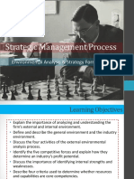 Strategic Management Process Report